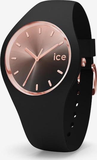 ICE WATCH Uhr in rosé / schwarz, Produktansicht