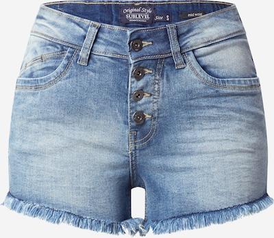 Sublevel Shorts in blue denim, Produktansicht