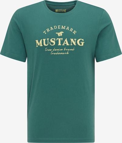 MUSTANG T-Shirt ' Alex C Print ' in grün, Produktansicht