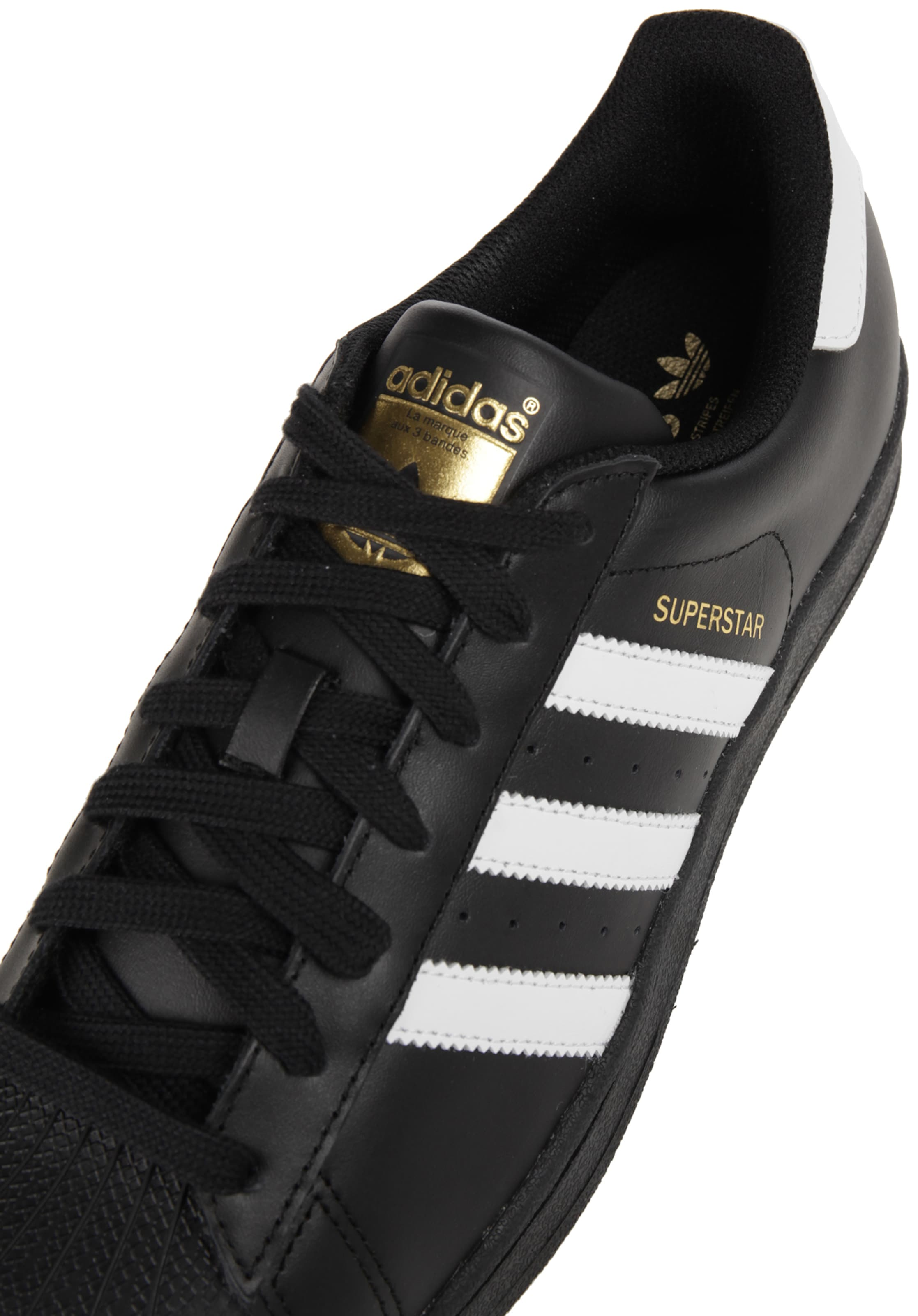 Originals 'superstar' Sneaker Adidas SchwarzWeiß In vIbgYf6y7