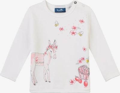 Sanetta Kidswear Sweatshirt in rosa / weiß, Produktansicht