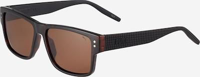 PUMA Sonnenbrille 'PU0269S-001 57 MAN INJECTION' in dunkelbraun / schwarz, Produktansicht