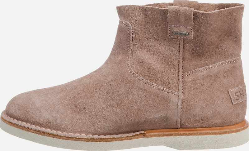 SHABBIES AMSTERDAM Klassische Stiefeletten 'ANKLE BOOT LOW SUEDE'
