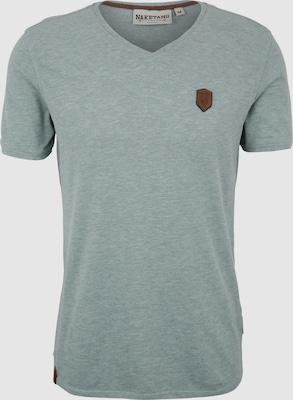 naketano Shirt 'Gelinde gesagt' in Pastelgroen