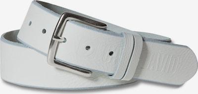 CAMP DAVID Gürtel in weiß, Produktansicht