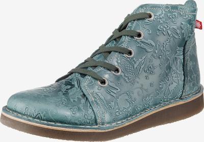 Grünbein Schnürstiefelette 'Tessa' in pastellblau, Produktansicht