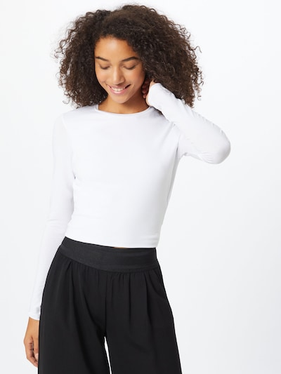 Envii Shirt 'Entube' in weiß: Frontalansicht