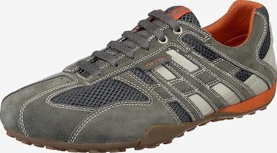 GEOX Schuhe 'Snake' in schlammfarben / dunkelorange, Produktansicht