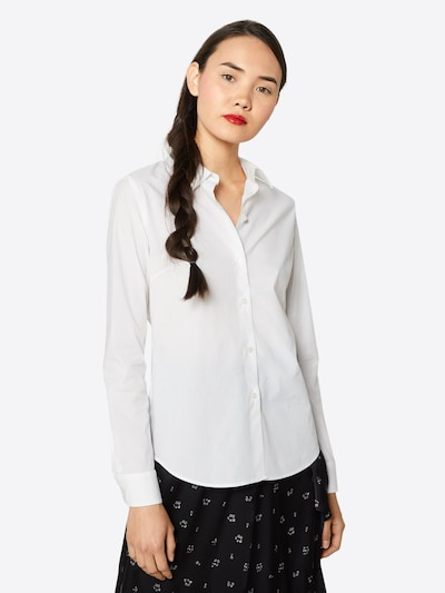 G-Star RAW Blouse in de kleur Wit, Modelweergave