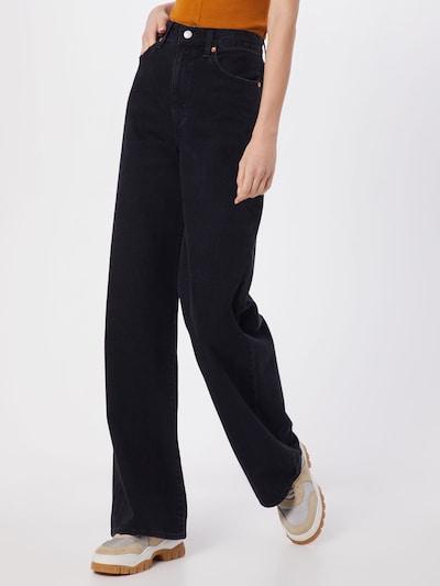 LEVI'S Jeansy 'RIBCAGE' w kolorze czarnym, Podgląd na modelu(-ce)