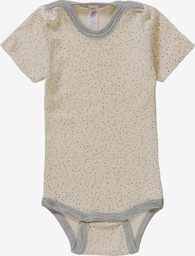 ENGEL Baby Body in beige / grau, Produktansicht
