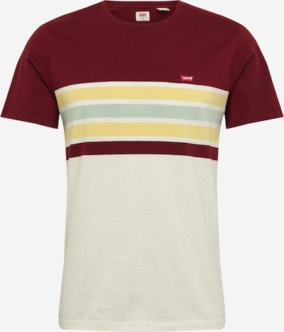 LEVI'S Shirt in creme / weinrot, Produktansicht