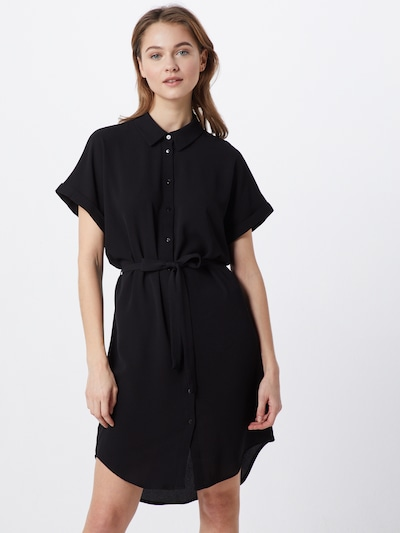 VERO MODA Kleid 'Sasha' SHIRT SS DRESS GA NOOS' in schwarz, Modelansicht