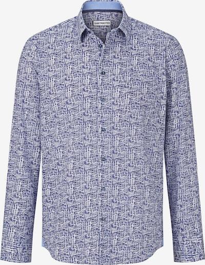 Shirtmaster Overhemd 'Orientalspirit' in de kleur Royal blue/koningsblauw / Wit, Productweergave