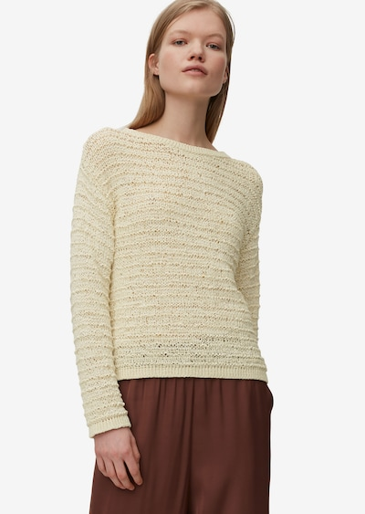 Marc O'Polo Pure Pullover in beige, Modelansicht