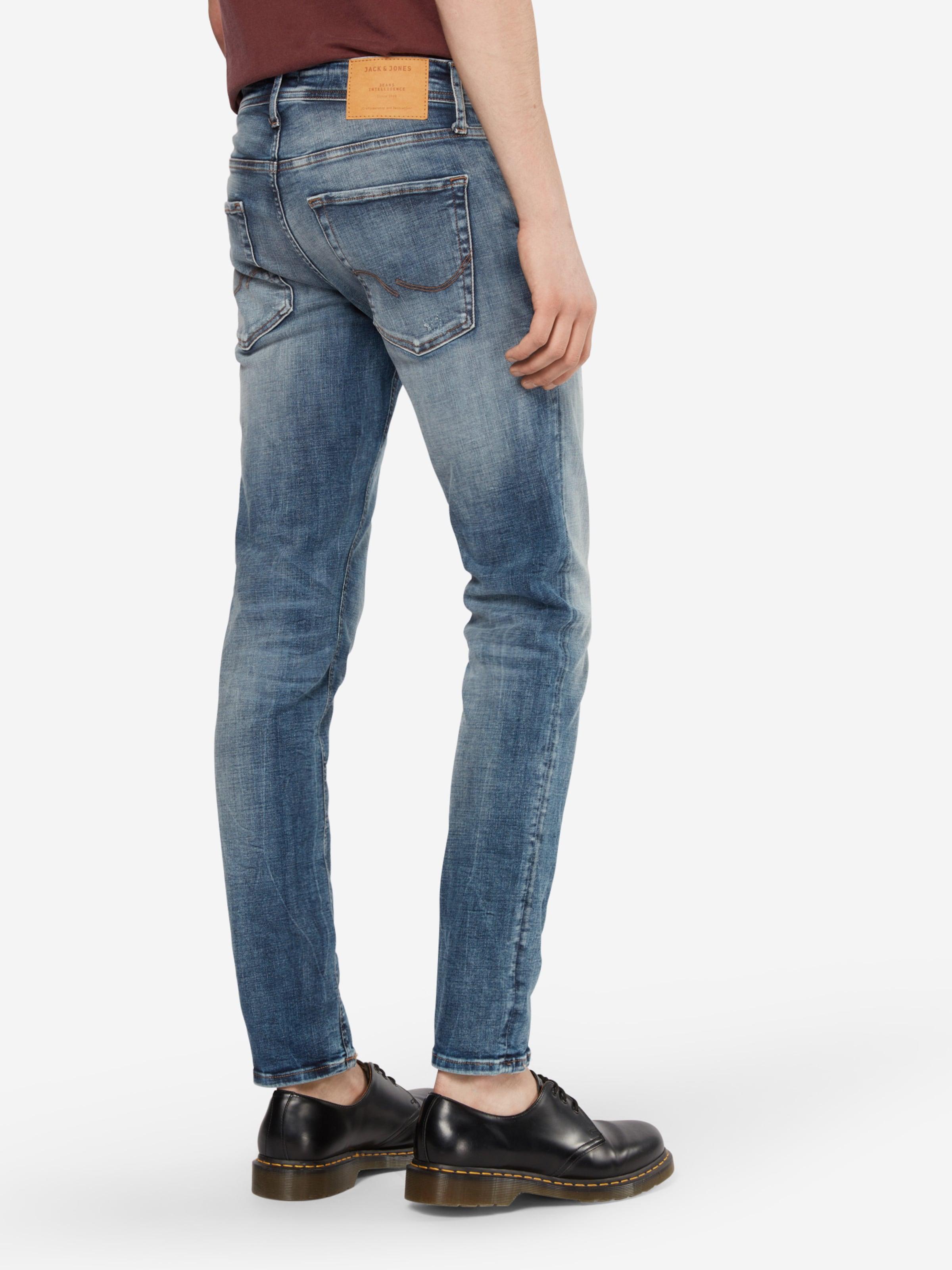 JACK & JONES Jeans 'JJIGlenn' Wählen Sie Eine Beste Günstig Online X1OKnFo