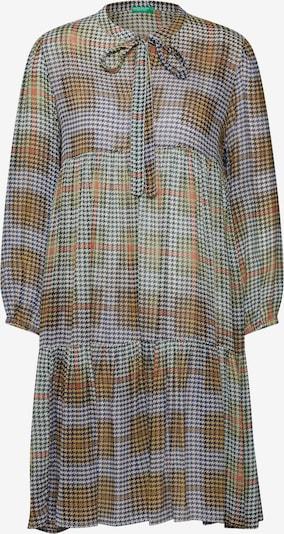 UNITED COLORS OF BENETTON Dolga srajca | rumena / mešane barve barva, Prikaz izdelka