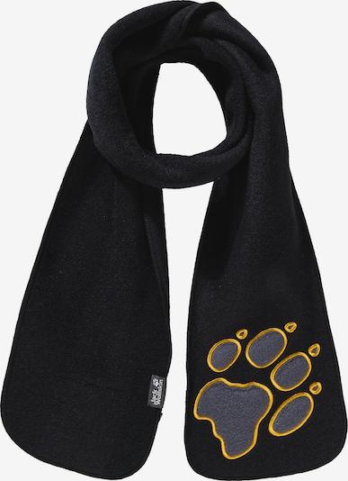 JACK WOLFSKIN Schal 'Paw' in schwarz, Produktansicht