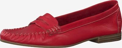 TAMARIS Mocassins in de kleur Rood, Productweergave