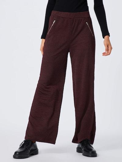 ABOUT YOU Broek 'Maxie Trousers' in de kleur Bordeaux, Modelweergave