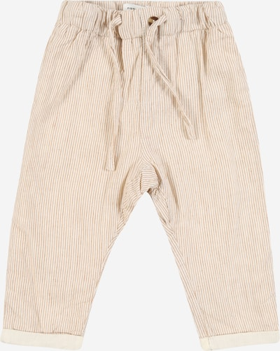 NAME IT Hose 'FASAN' in beige / creme, Produktansicht