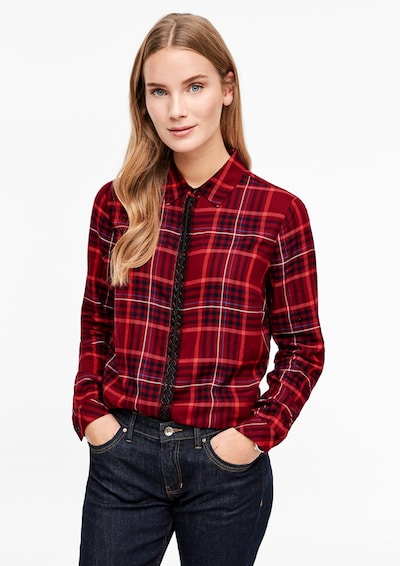 s.Oliver Bluse in rot: Frontalansicht