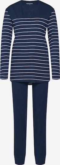 SCHIESSER Schlafanzug in nachtblau, Produktansicht