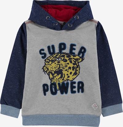 KANZ Sweatshirt in navy / rauchblau / graumeliert, Produktansicht