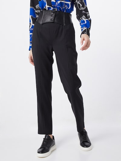 The Kooples Hose 'PANTALON' in schwarz, Modelansicht
