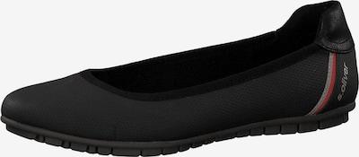 s.Oliver Ballerina in schwarz, Produktansicht