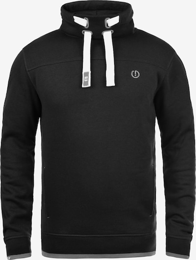 !Solid Stehkragenpullover 'BENJAMIN TUBE' in schwarz, Produktansicht