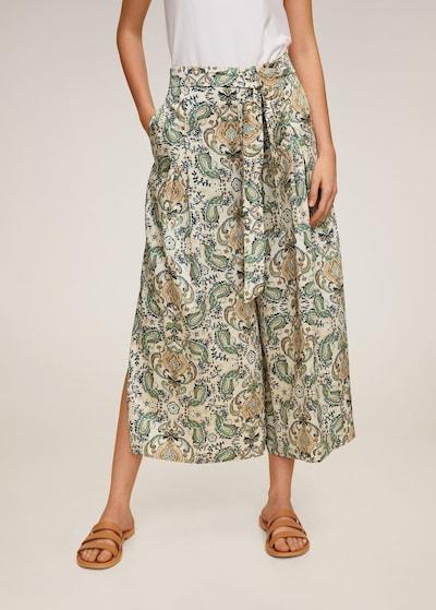Pantaloni cutați MANGO pe culori mixte, Vizualizare model