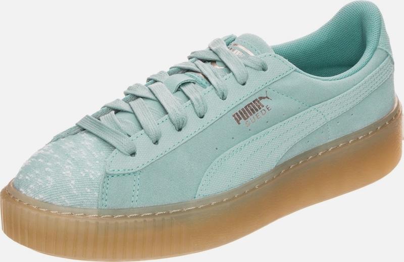 PUMA 'Suede Platform Pebble' Sneaker Damen