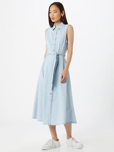 OBJECT Kleid 'Lucinda' in blau, Modelansicht