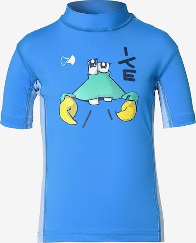 HYPHEN Schwimmshirt in blau / hellblau / gelb / mint, Produktansicht