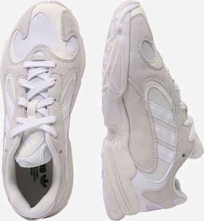 ADIDAS ORIGINALS Sneaker 'Yung 1' in beige / weiß / perlweiß: Seitenansicht