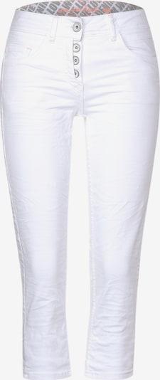 CECIL Weiße Hose in 3/4-Länge in weiß, Produktansicht