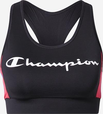 Champion Authentic Athletic Apparel Sporta krūšturis rozā / melns / balts, Preces skats