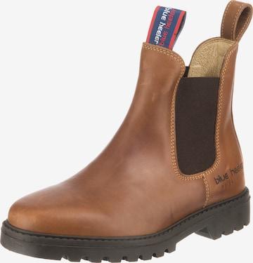 Blue Heeler Chelsea Boot 'Sydney' in Braun