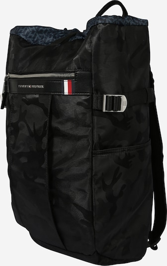 TOMMY HILFIGER Tasche 'ELEVATED NYLON CAMO DRAWS' in grau / schwarz, Produktansicht
