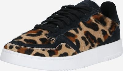 ADIDAS ORIGINALS Sneaker 'SUPERCOURT' in hellblau / braun / schwarz, Produktansicht