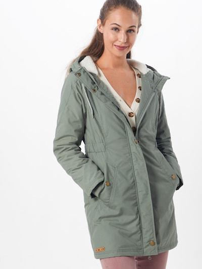 Iriedaily Zimní kabát 'Hopi' - olivová, Model/ka