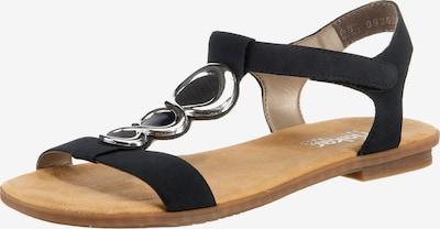 RIEKER Sandalen met riem in de kleur Zwart, Productweergave