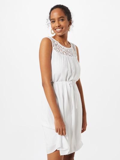 ZABAIONE Jurk 'Lana' in de kleur Wit: Vooraanzicht