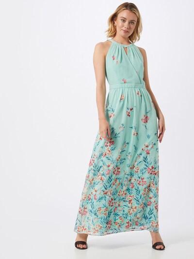 Esprit Collection Kleid  'Fluent D-Georg' in mint / mischfarben, Modelansicht
