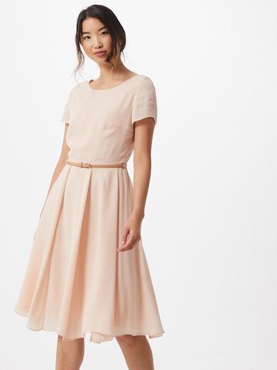 SWING Kokteilové šaty - pastelovo ružová: Pohľad spredu