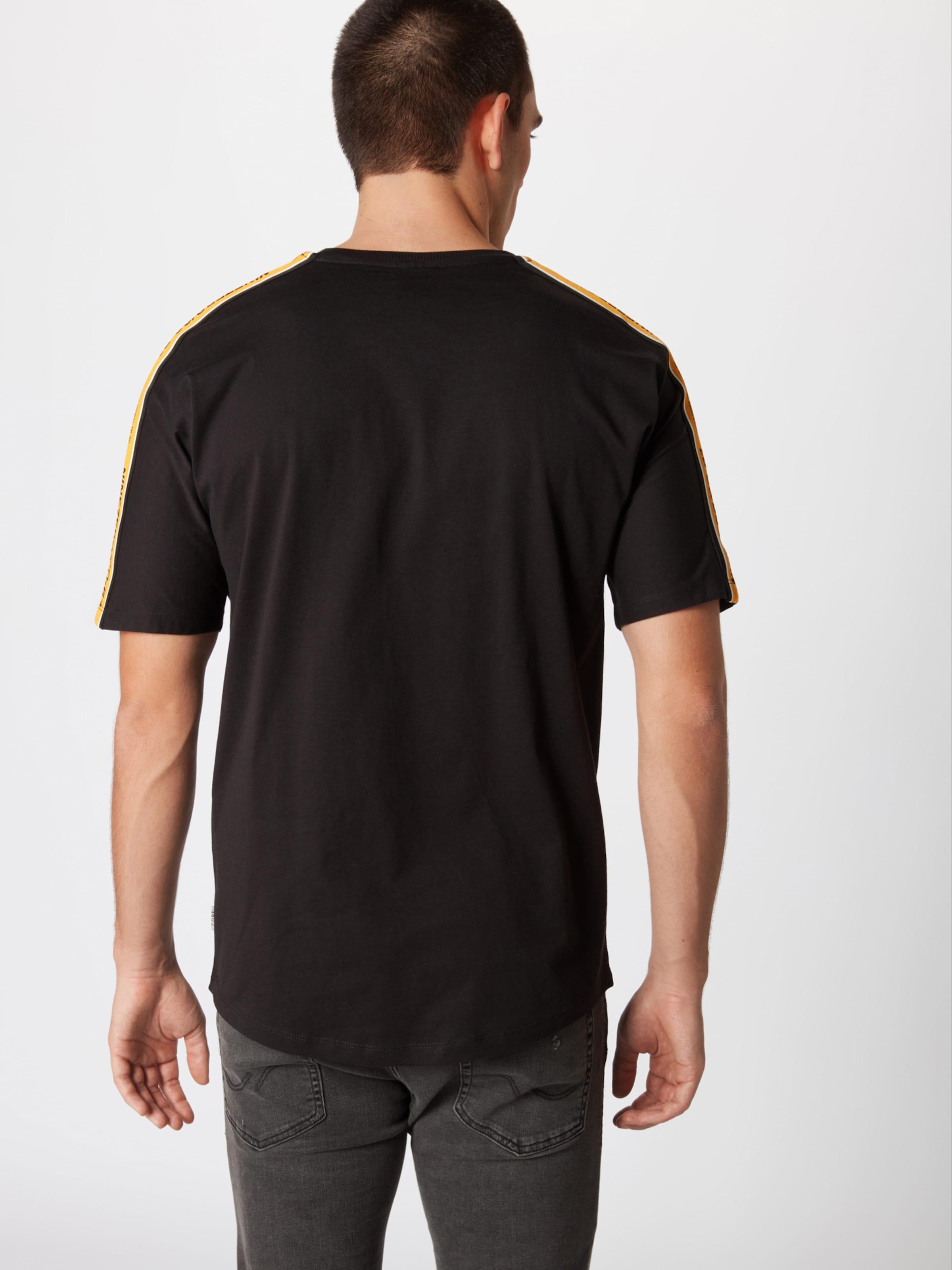 'tape' Jones Jackamp; SafranSchwarz Shirt In 8nv0wmNO