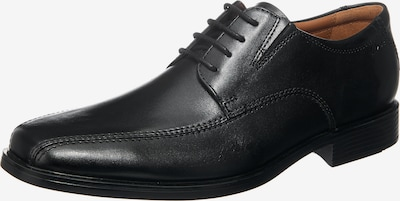 CLARKS Schnürschuh 'Tilden Walk' in schwarz, Produktansicht