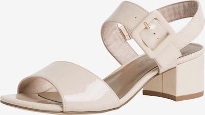 TAMARIS Sandalette in elfenbein, Produktansicht