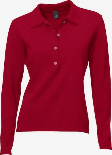 Pullover heine di colore rosso scuro: Vista frontale
